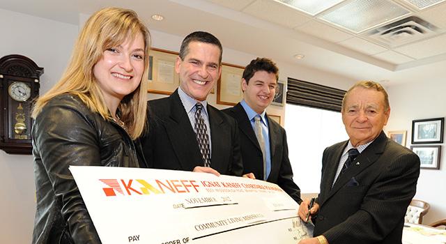 Kaneff Donation 2012