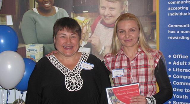Volunteer Award Presentation at Annual General Meeting